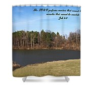 Inspirations 10 Shower Curtain