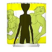Intelligent Design Shower Curtain