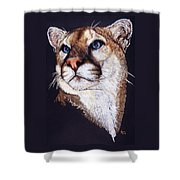 Intense Shower Curtain