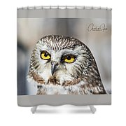 Intense Look Shower Curtain