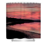 Intense Pink Shower Curtain