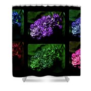 Intense Six Shower Curtain