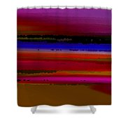 Intensely Hued II Shower Curtain