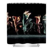 Fierce In Color Shower Curtain