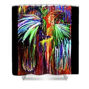Inter-dimensional Beings Shower Curtain