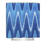 Interesting Cloud Abstract Shower Curtain