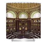 Interior Of The Library Of Congress Shower Curtain
