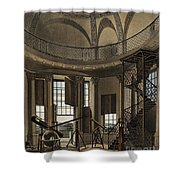 Interior Of The Radcliffe Observatory Shower Curtain