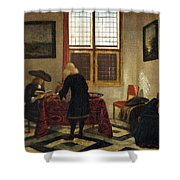 Interior Scene Shower Curtain
