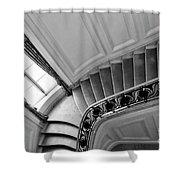 Interior Stairs Architecture  Shower Curtain