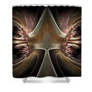 Internal Activity Shower Curtain