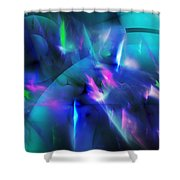 Internal Demons 2 Shower Curtain