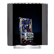 International Car Forest Of The Last Church 3 Shower Curtain by James Sage
