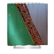 International Green Shower Curtain