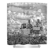 International Paper Company Shower Curtain