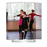 International Summer Dance School  Shower Curtain