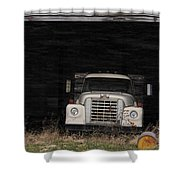 International Truck Shower Curtain