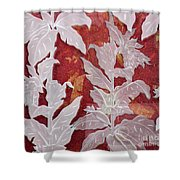 Interpenetrating Images Shower Curtain