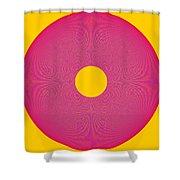 Interplay Interference Wheel - Beauteysphere Opus12 Shower Curtain
