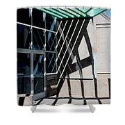 Intersections Shower Curtain