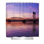 Interstate Bridge Shower Curtain