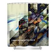 Interstellar Hacker Shower Curtain