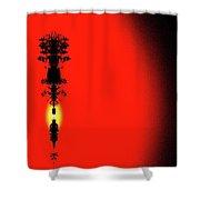 Interstellar Overdrive Five  Shower Curtain