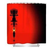 Interstellar Overdrive Four  Shower Curtain