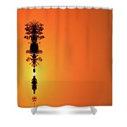 Interstellar Overdrive  Shower Curtain