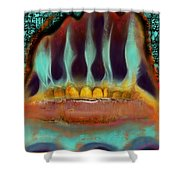 Interstice Shower Curtain