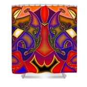 Intertwined Lifestreets Shower Curtain