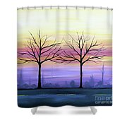 Intertwined Shower Curtain