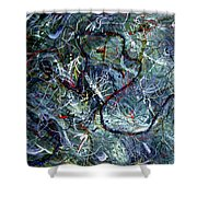 Intertwining Paths Shower Curtain