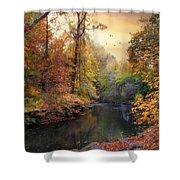 Intimate Autumn Shower Curtain