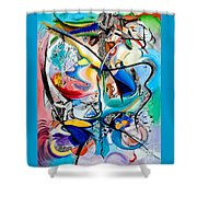 Intimate Glimpses - Journey Of Life Shower Curtain