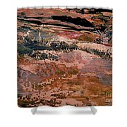Into Fantasy Landscapes Shower Curtain