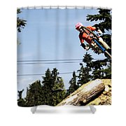 Into The 4pack Shower Curtain