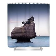 Into The Blue Shower Curtain