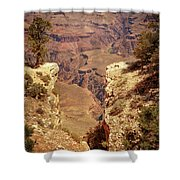 Into The Canyon Shower Curtain by Susan Rissi Tregoning