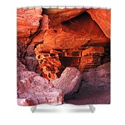 Into The Cave Shower Curtain