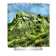 Into The Crazy Bisti Shower Curtain