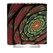 Into The Fantasy Tunnel Shower Curtain
