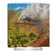 Into The Front Range Shower Curtain