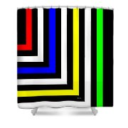 Into The Future Shower Curtain