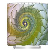 Into The Inner Kingdom Shower Curtain