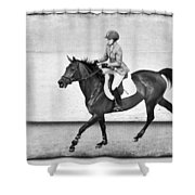 Into The Jump Shower Curtain