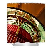 Into The Lighthouse Shower Curtain