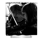 Into The Music Shower Curtain