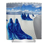 Into The Mystic 12 Shower Curtain