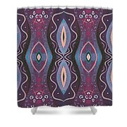 Into The Purple Shower Curtain